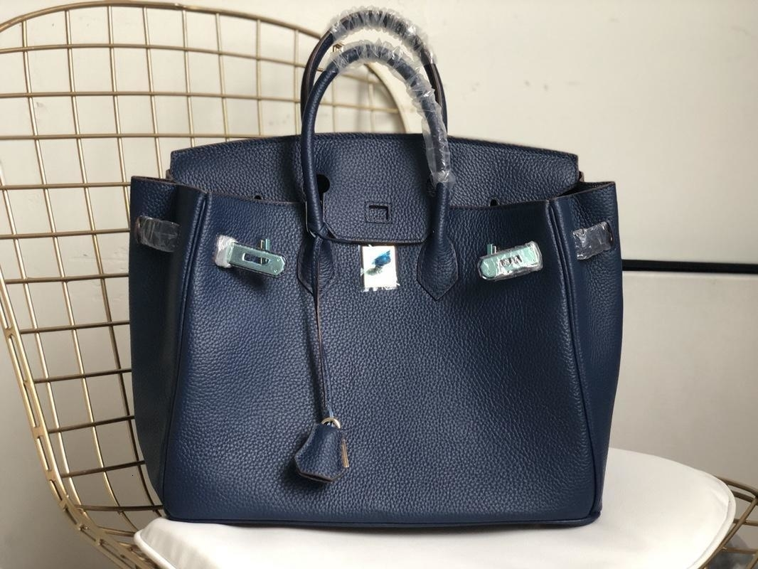 marca 2019 bolsos clásico color sólido litchi grano bolso de piel de vaca casual moda bolso de embrague bolso bandolera bolsos monederos mujeres 2-75