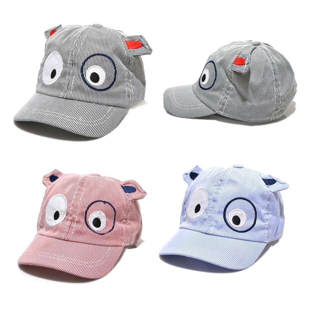 Kids Baby Hat Boys Girls Cute Cartoon Dog Beret Hat Sun Hat Summer Baseball Cap
