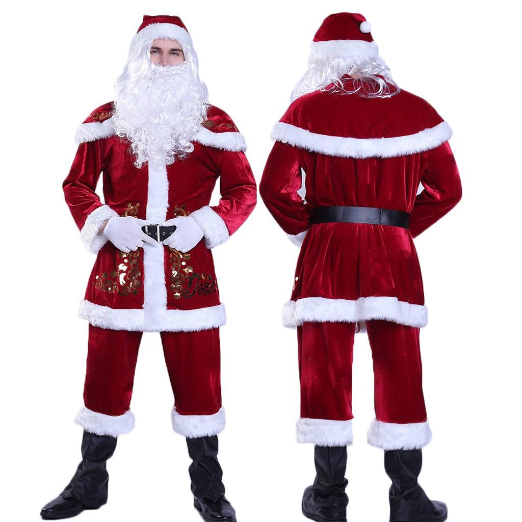 Noël Nouveauté Noël Chaud Santa Gants-adultes fêtes Vêtement d/'hiver