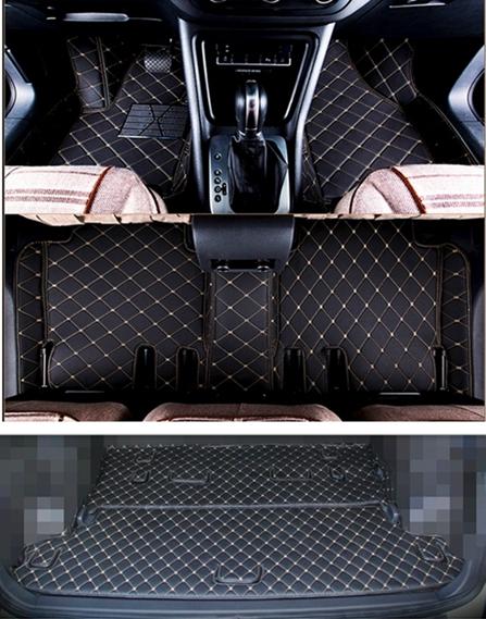Tapis de baignoire pour seat Leon sport 2 1p hayon hatchback 5-porte 2009-2012