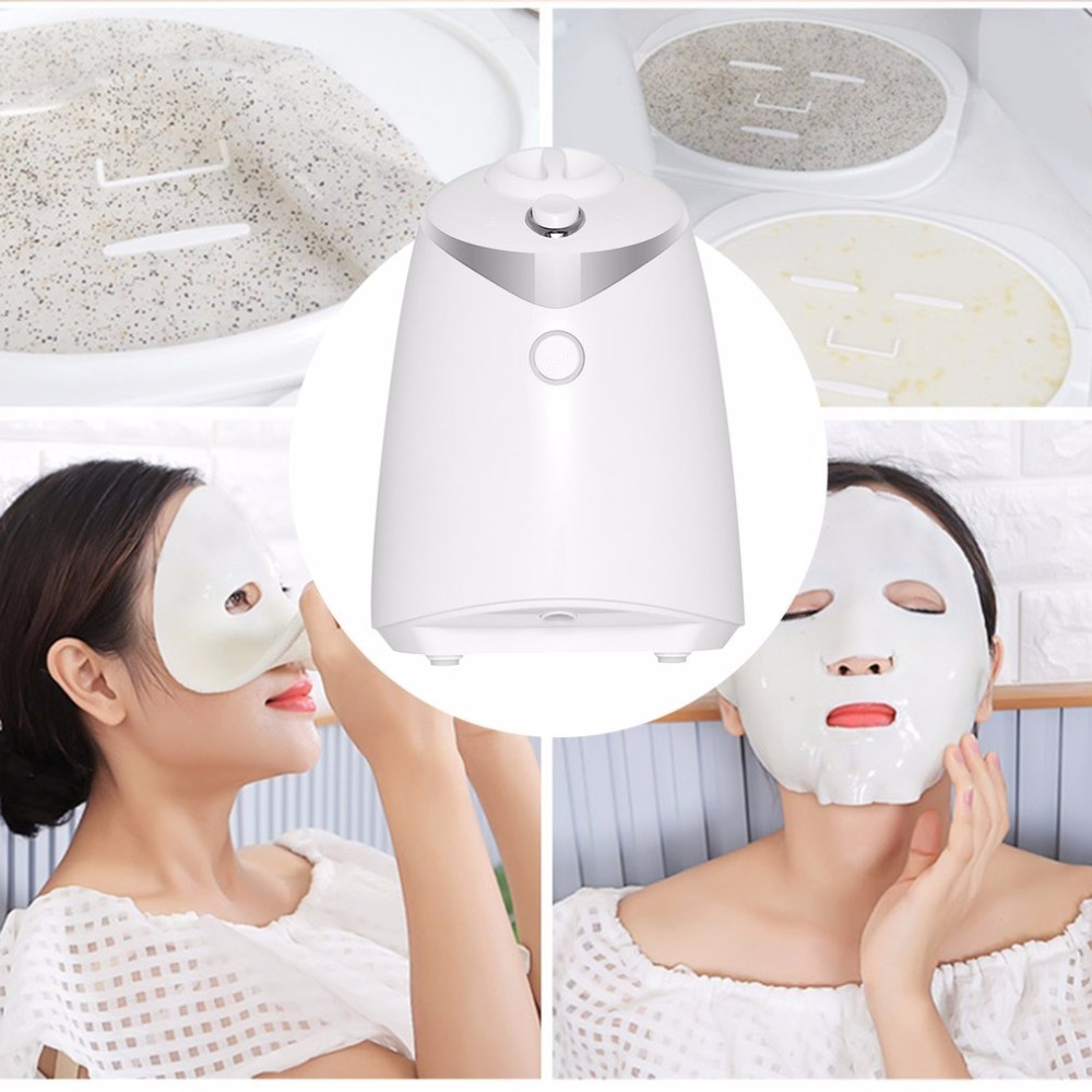 Face Care DIY Homemade Fruit Vegetable Crystal Collagen Powder Beauty Facial Mask Maker Machine For Skin Whitening Hydrating