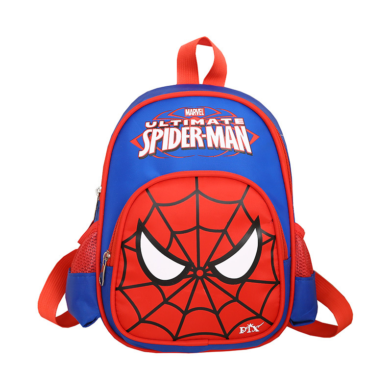 UK Spider-Man Backpack Student School bag Luminous Shoulders Bag Travel Rucksack