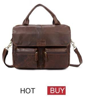 genuine leather bag men bag male (6)
