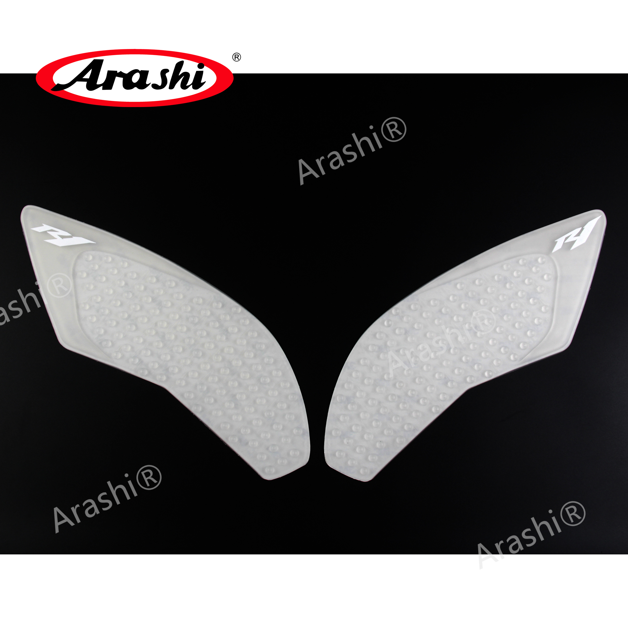 For Yamaha YZF R1 YZFR1 2015 2016 2017 2018 YZF-R1 Motorcycle 3M Tank Pad Gas Anti slip Stickers Adhesive Rubber Traction Side Fuel Gas Grip Decal Protector