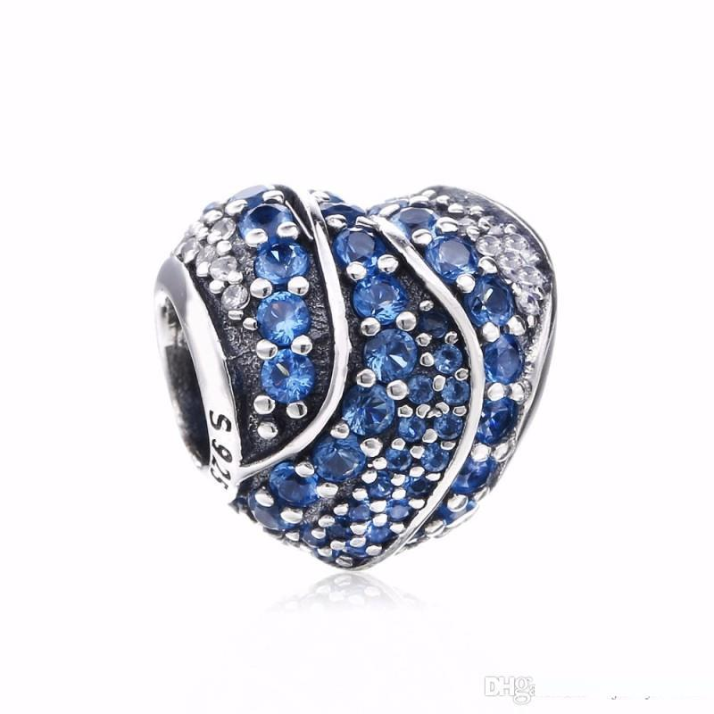 charm pandora azzurro originali