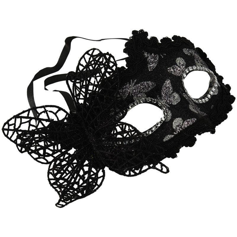 WHITE Swan Eye Mask Masquerade sfera Costume