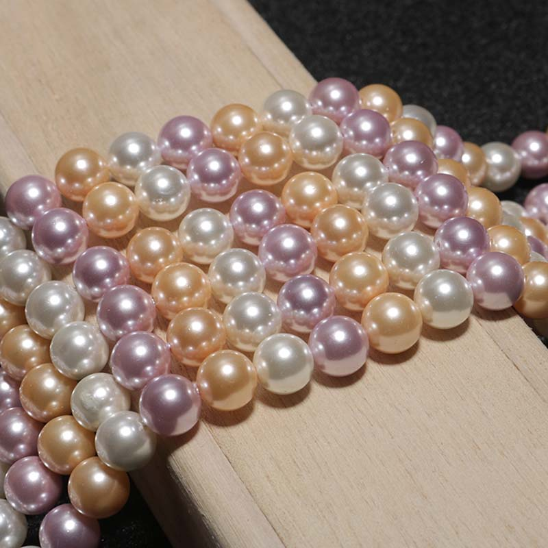 Ivory Heart Genuine Freshwater Loose Pearls for Jewellery Making 14-15 mm