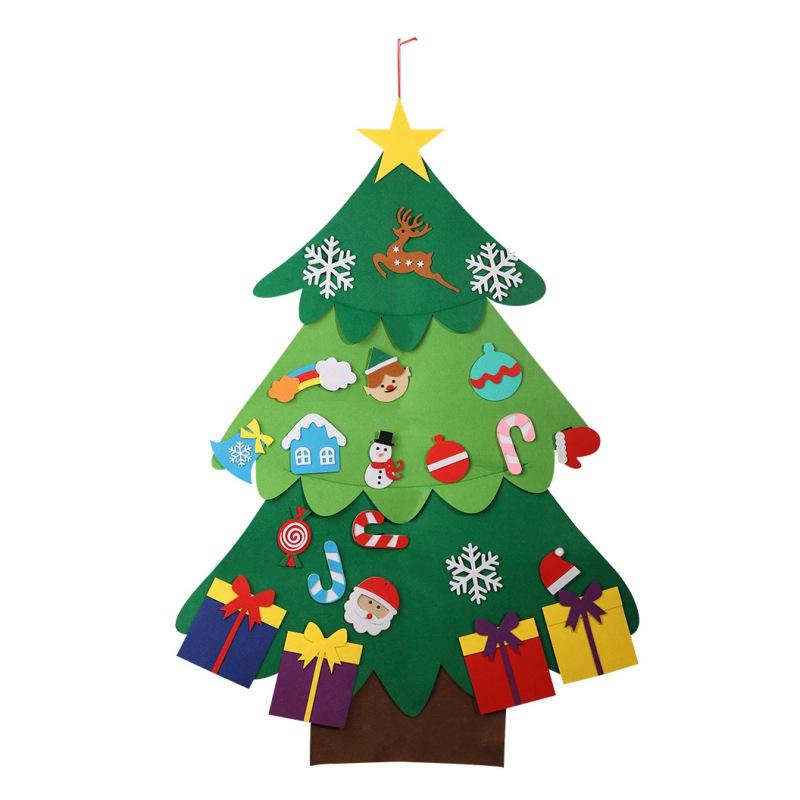 4 Santa/'s huellas Navidad piso se aferran Decoraciones