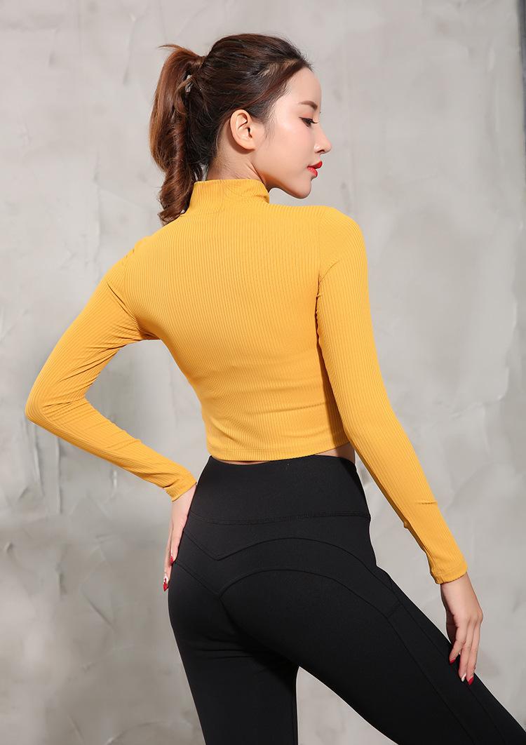 Mujer, miel, melocotón, glúteos, cierre, culturismo, pantalones, movimiento, correr, pantalones de yoga, autocultivo, suave, nueve, parte, pantalones