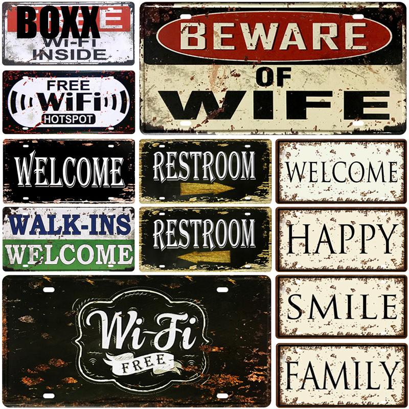SUMIK Beware of Vampires Metal Tin Sign,Vintage Art Plate Plaque Bar Pub Home Party Door Wall Decor