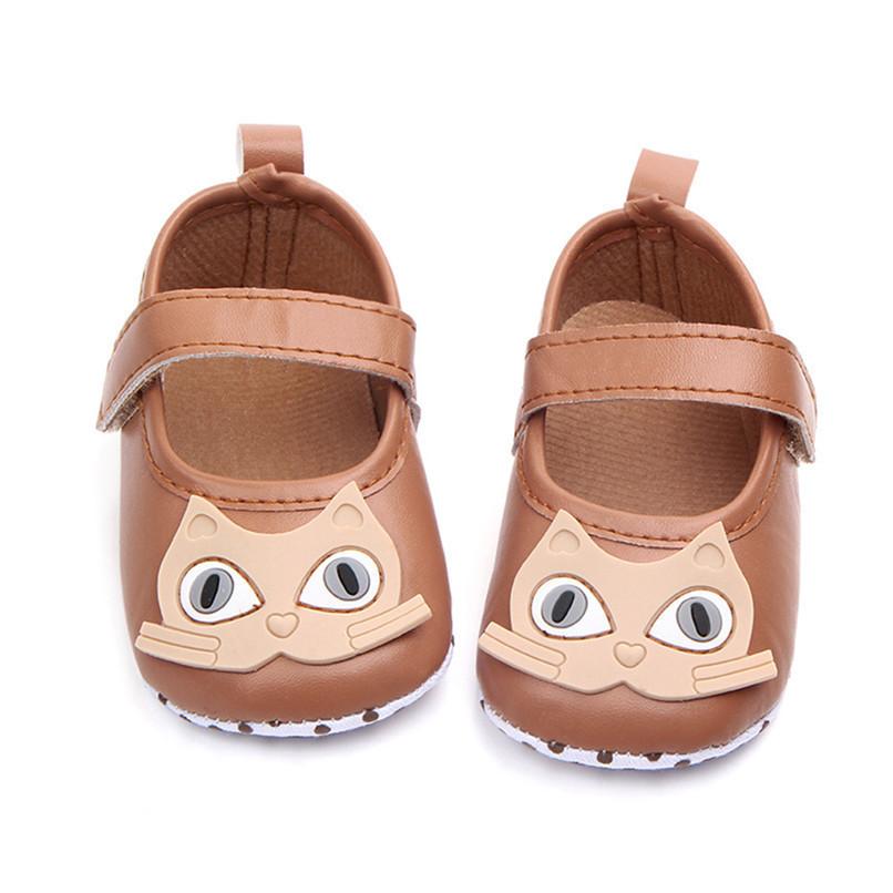 Newborn Baby Girl Cartoon Sneaker Soft Sole Anti-slip Single Shoes First Walker A84L77 (22)