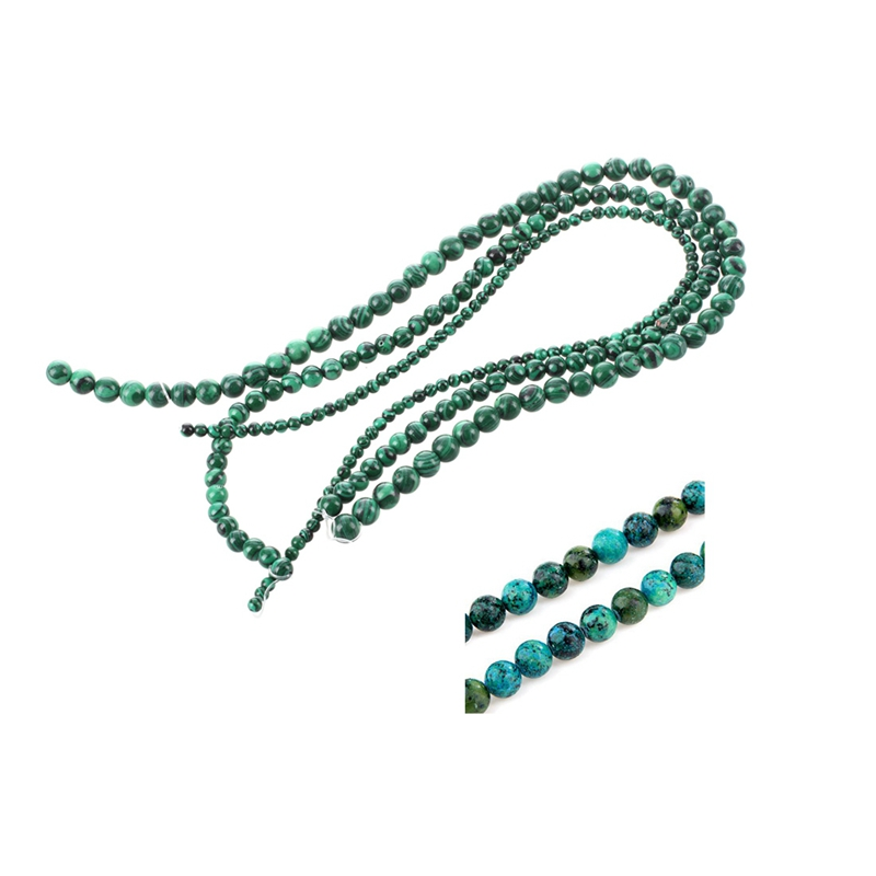 Women Green Aventurine Natural Gemstones Abacus Bead Chakra Ear Stud Earrings