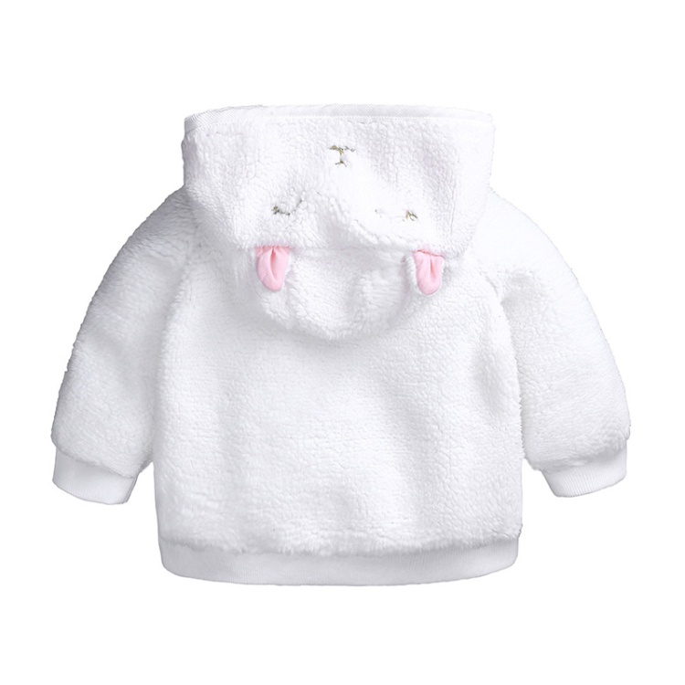 Autumn Winter baby coat love girls outfits boys clothes warm hooded long sleeve coat bebe costume (4)