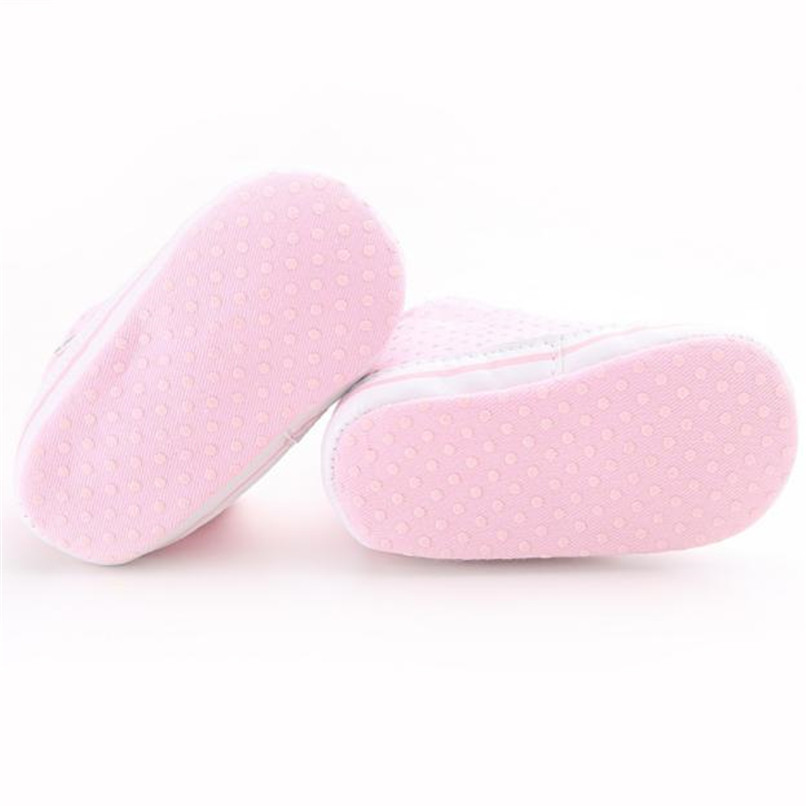 Baby Shoes For Girls Toddler Baby Girl Canvas Heart shape Sneaker Anti-slip Soft Sole Shoes Baby First Walker Shoes M8Y10 (12)