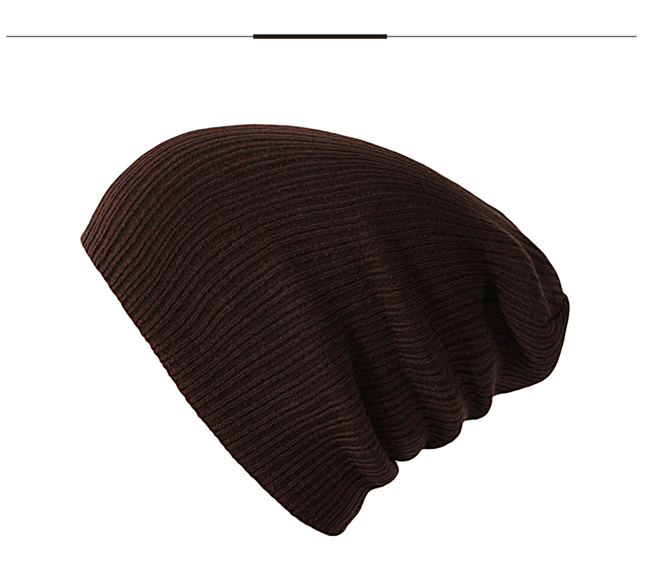 2Autumn Winter Cap Men Women Solid Color 2018 New Casual Brand High Quality Fashion Beanies For Girls