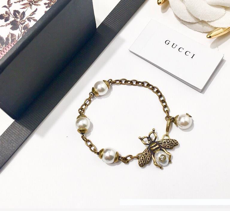 Nid d/'Abeille Queen Bee 925 Argent Sterling Zircone cubique en émail Charm Bead Fits Bracelet Chaîne