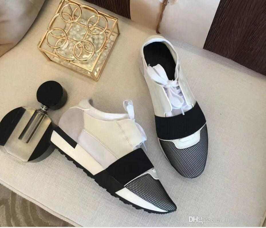 New Designer Mesh Shoes Drop Shipping Popular Brand Casual Shoe Man Woman Sneaker Fashion Mixed Colors Red Nude Mesh Trainer With Box