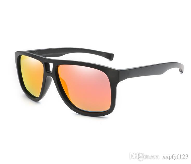 Eyewear Men women Square Polarized lens Fashion Sunglasses Brand designer Vintage driving Sun glasses with box A356