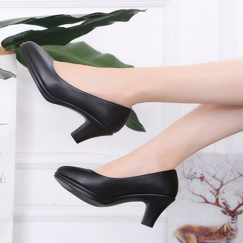 Schuhe Frühling Herbst Frau High Heels Zurück Boot Frauen Kleid Spike Heeled OL Büro Dame Pumps zapatos mujer 60H30