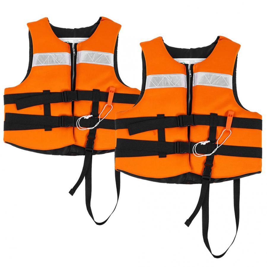 Kids Child Universal Life Jacket Sailing Boating Water Skiing Swimming Vest PFD