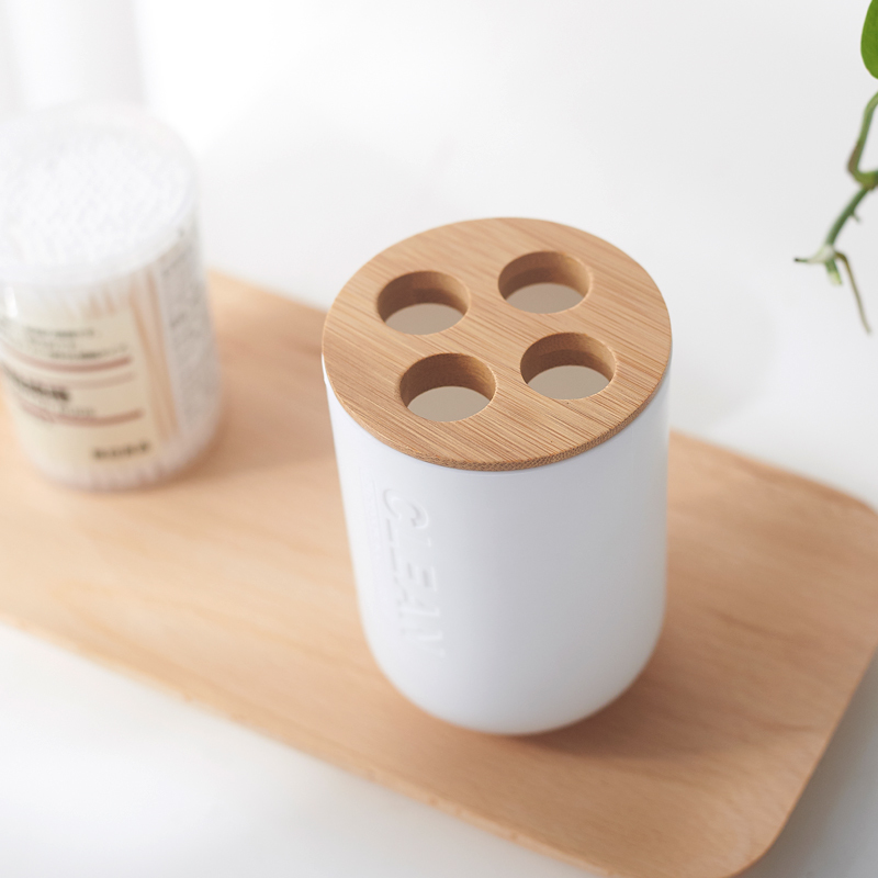 5-Bamboo-Soap-Dish-Soap-Dispenser-Toothbrush-Holder-Soap-Holder-Bathroom-Accessories