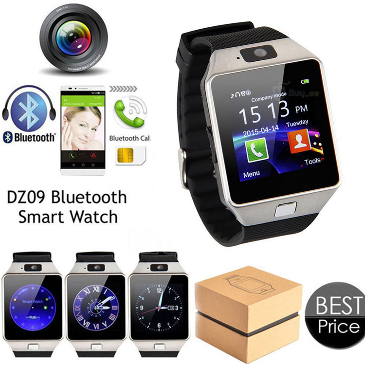 DZ09 Bluetooth Smartwatch For Wrisband Apple Android Smart Watches SIM Intelligent Mobile Phone Bluetooth camera Sleep State Smart Watch