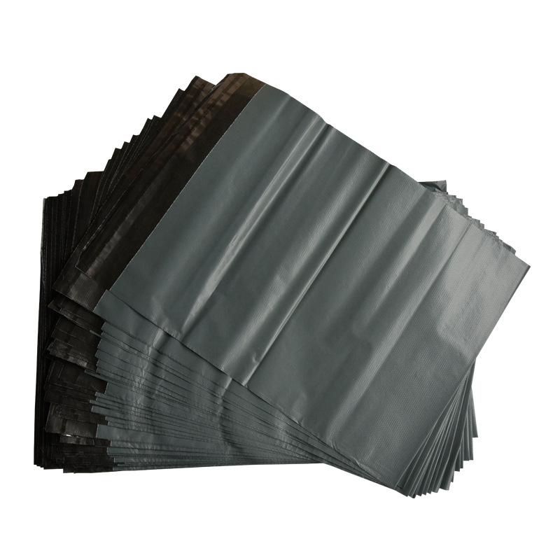 17 X 30cm-Paquete de 100 Gastos de envío correo Postal Bolsas Poly Plástico Sacos Gris post