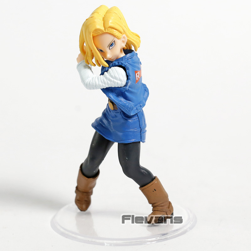 vente en gros balle styling androïde n ° 18 Lazuli PVC Figure Dragonball Z Collection Modèle Jouet Figurine