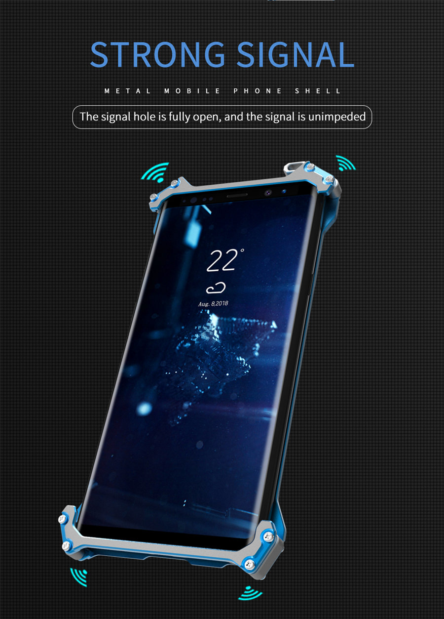 Cool Metal Phone Case For iPhone XS Max Case Cover For iPhone XS R-JUST Gundam Aluminum Case Coque Capa Funda For iPhone XR (4)