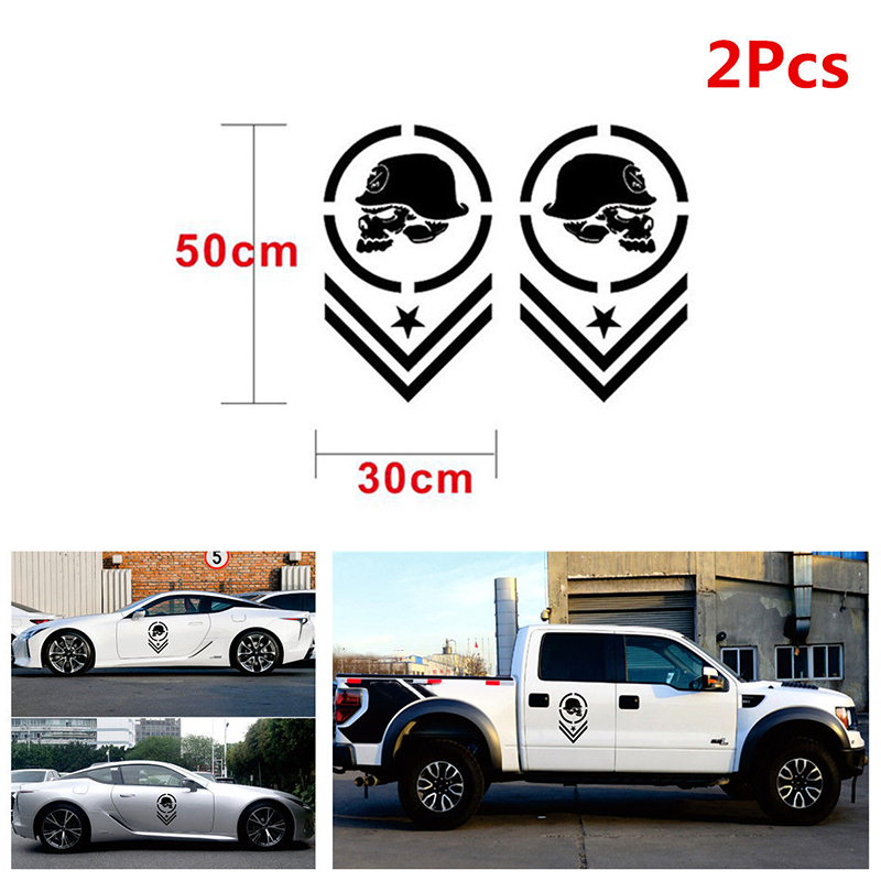 Car Truck Pickup Off-Road Side Stripe Vinyl Decal Stickers Waterproof ~