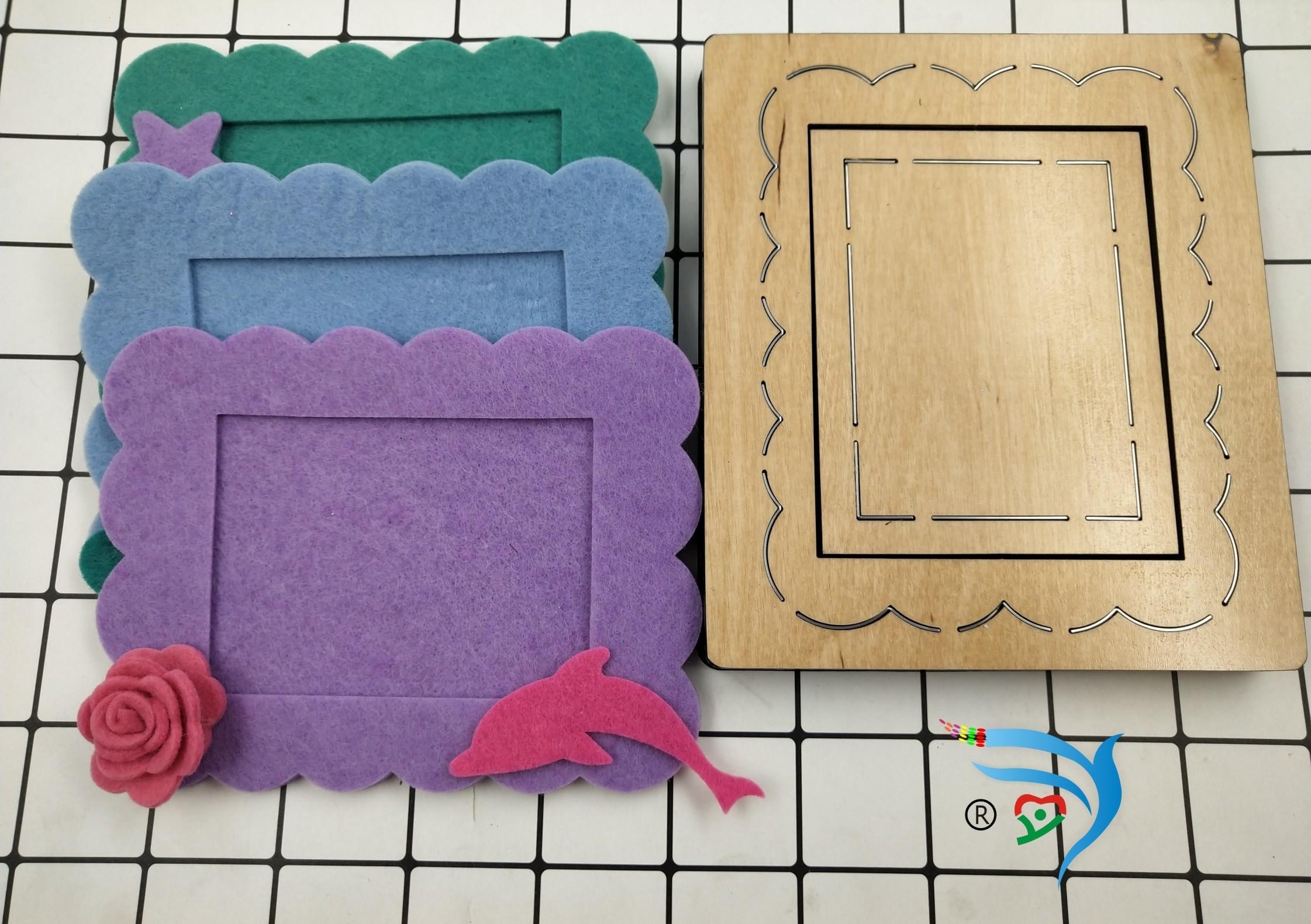 Cadre détachable Moules en bois Découpés Accessoires En Bois Die Regola Acciaio Die Misura My T190708