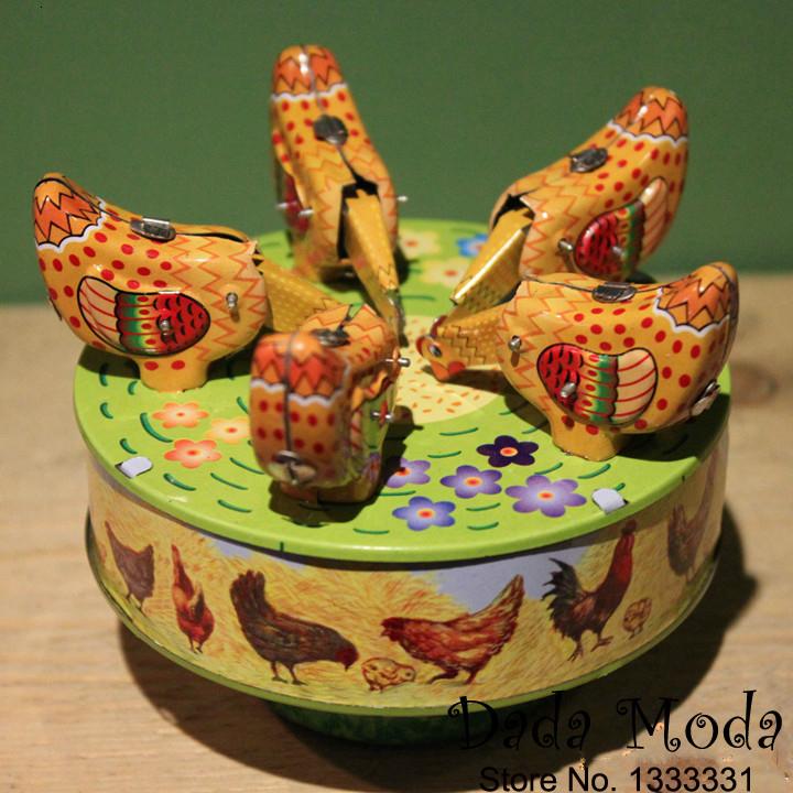 Spieluhr aus Holz Handwerk Sammler antike Handkurbel graviert Spielzeug Geschenk
