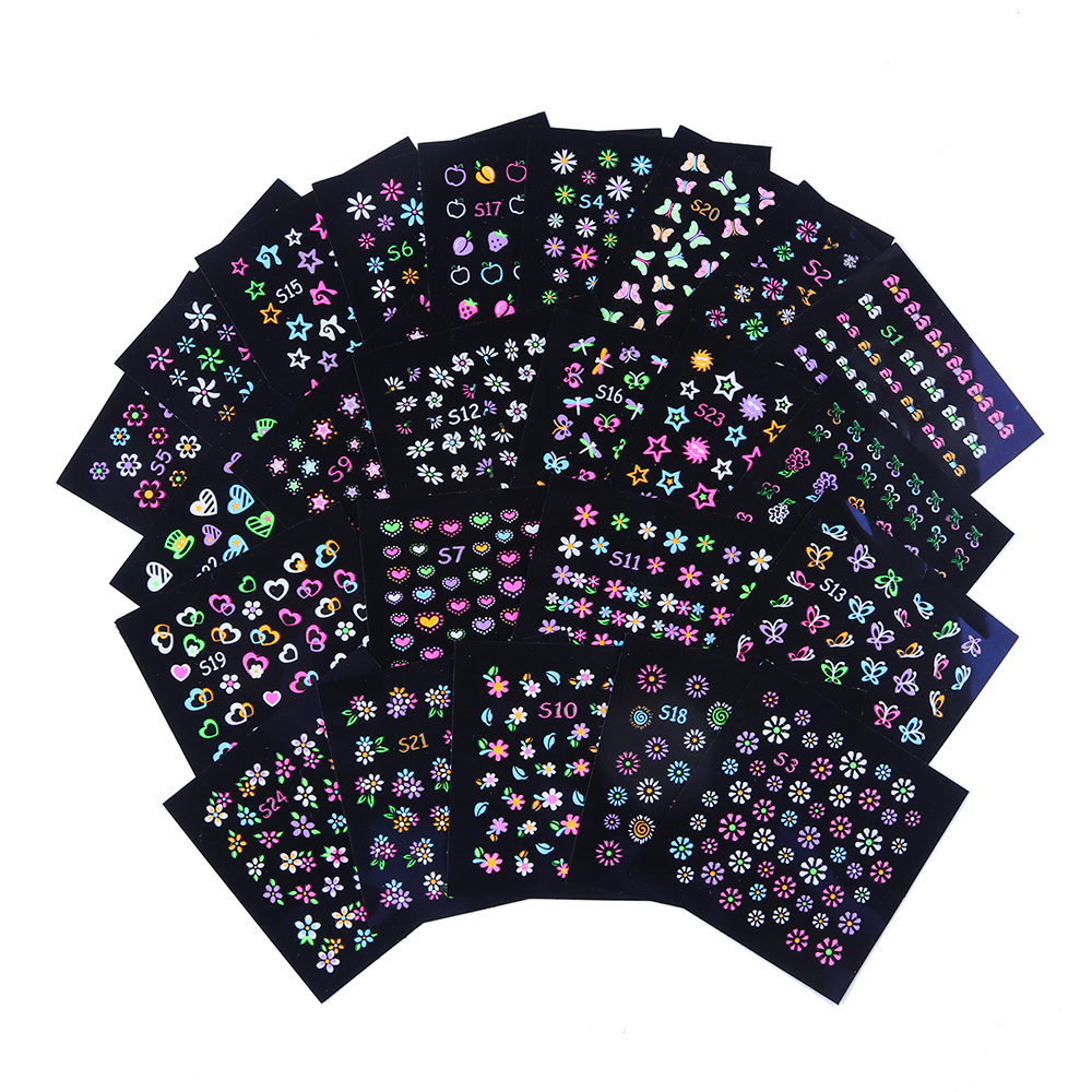 Luminous Nail Stickers11