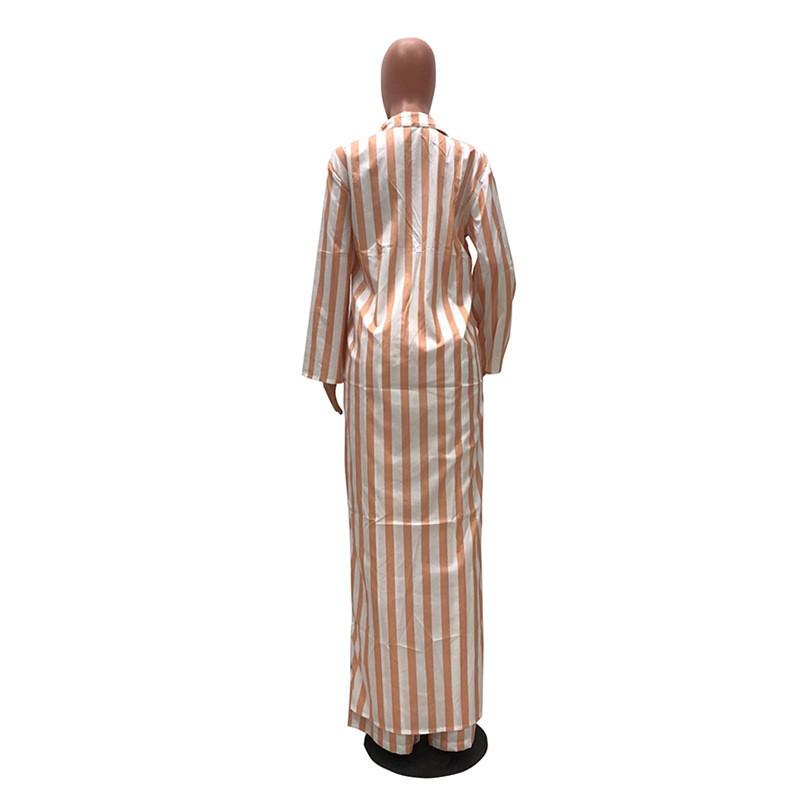 Women Two Pieces Sets Leisure Pants Suits Long Shirt Top And Width Legs Pants Set Autumn Matching Sets Outfit Training Suit Women Y19071301