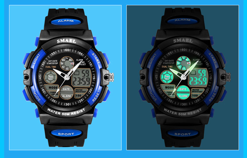 7 digital watch kids