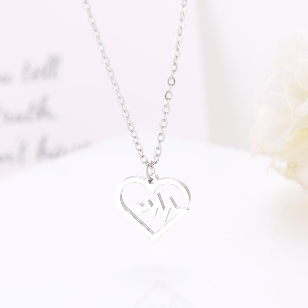 futurepost.co.nz Mmiiss Heartbeat Lifeline Pulse Open Heart Charm ...
