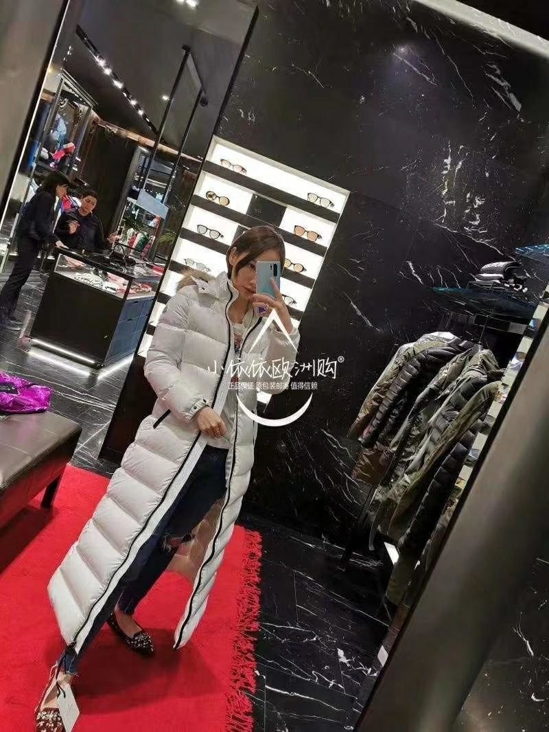 Manteaux en duvet d'hiver Womens veste tendance mode Marque coupe-vent chaud long manteau col de fourrure slim fit de haute qualité Manteaux 59