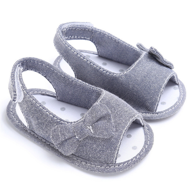 Summer Baby Shoes Newborn Toddler Baby Girl Soft Sole Bowknot First Walker Crib Prewalker Shoes NDA84L24 (7)