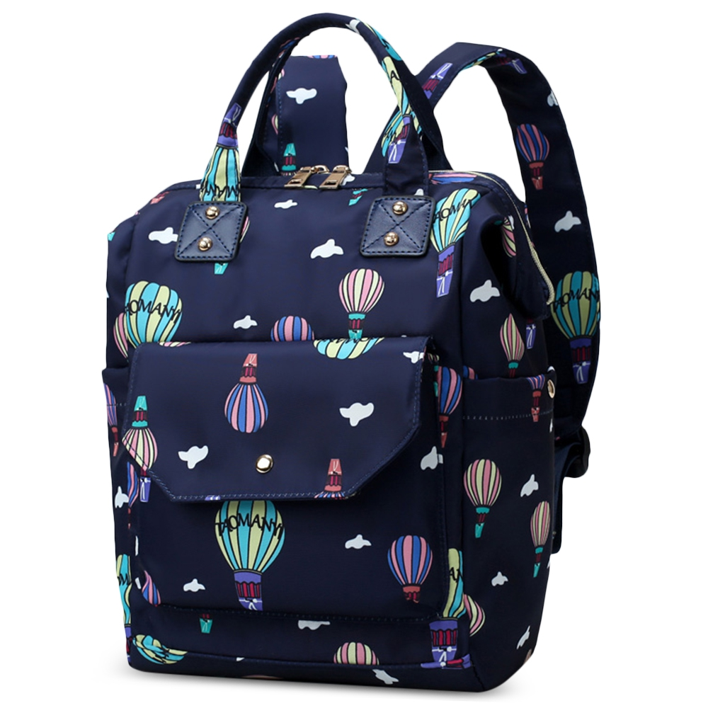 Diaper Bag Cute Pattern Waterproof Large Capacity Mother Women Backpack Fashion Mummy Maternity Nappy Bag For Mother Gift (12)