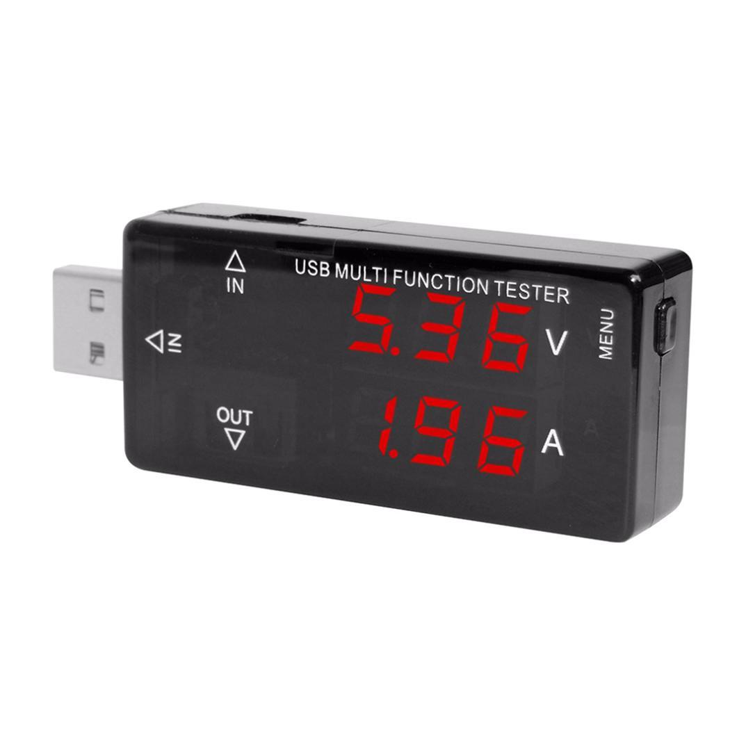 Fashion New Mini LCD Digital Display Current Voltage Power Charger USB Tester
