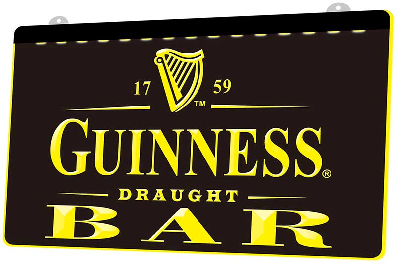 Guinness Lighted Beer Sign