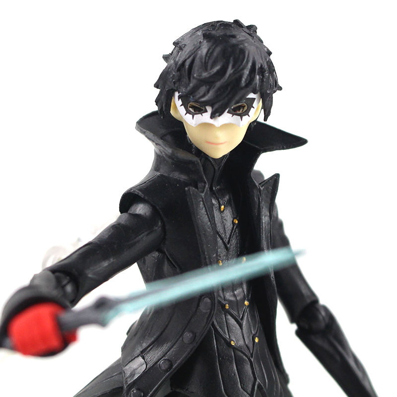 16 cm 2 Style Persona 5 Action Figure Shujinkou and Morgana Joker PVC Collectible Model Toy