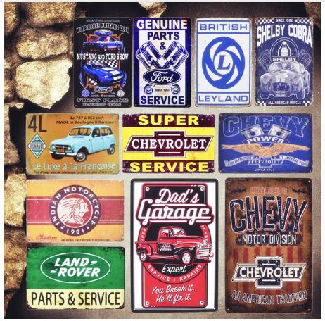 man cave  jeep automobile metal tin sign advertising wall decal