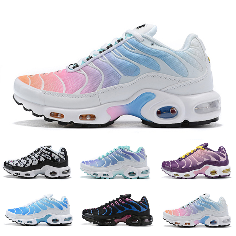 Nouveau Rainbow GIRL Noir Vert Mercury Plus TN Ultra SE Chaussures De Course LADY Femmes Sliver Or Orange Chaussures Athletic Sports Sneakers