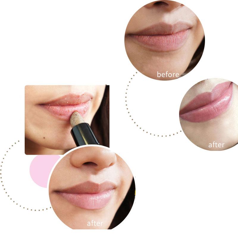 DHL GRATUIT Hot Lips Makeup Hydratant Durable Remover Peau Morte Soins des Lèvres Rides Nutritives Lèvres Propres Lèvres Crème Gommante Cosmétique