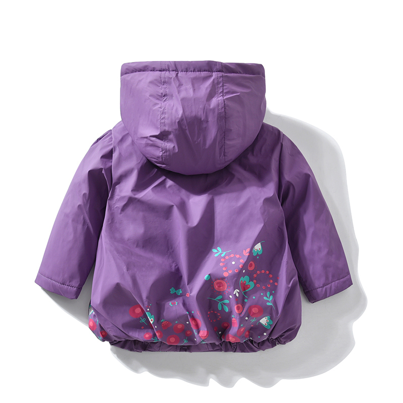 jacket for girls autumn warm for kids