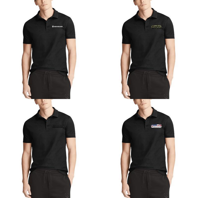 Canada Flag LGBT Flag Mens Short-Sleeve Polo T-Shirt Tee for Gym Tops T Shirt