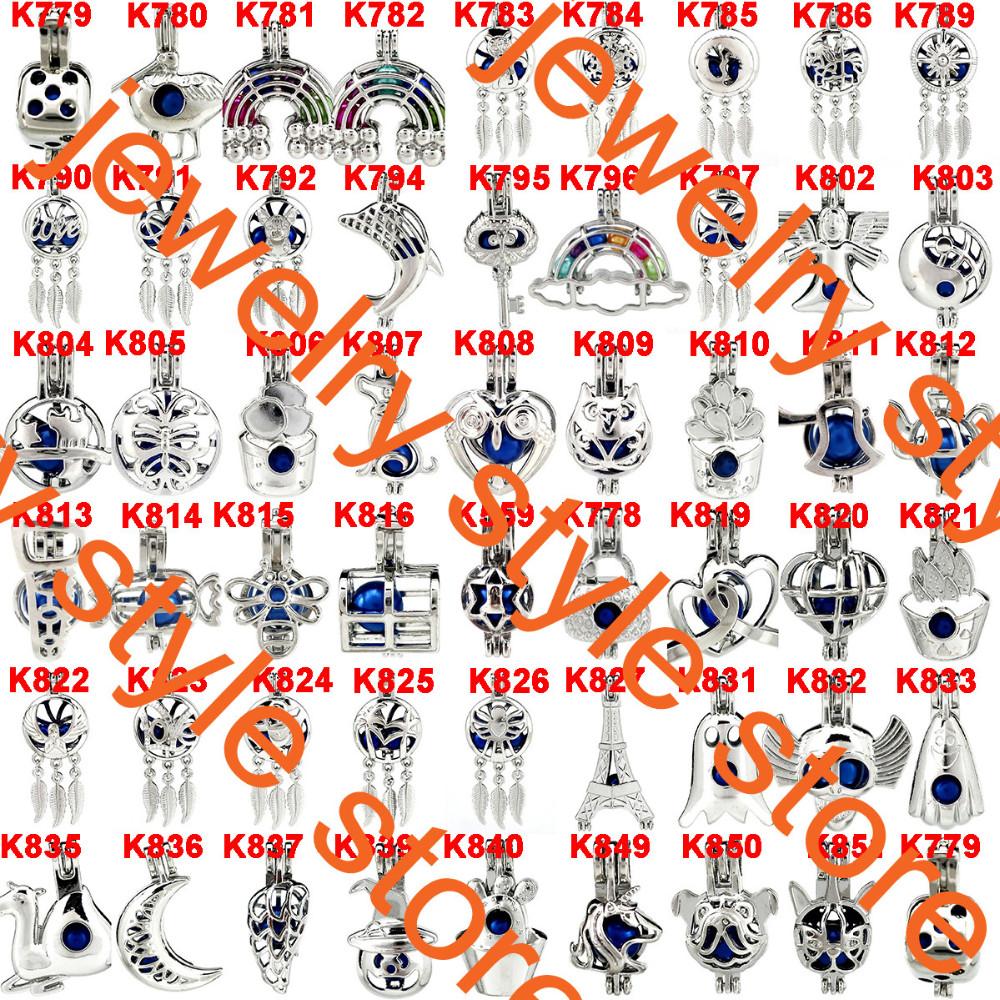 5X-K695 ruban couleur Koala Charm Perles Cage médaillon Diffuseur