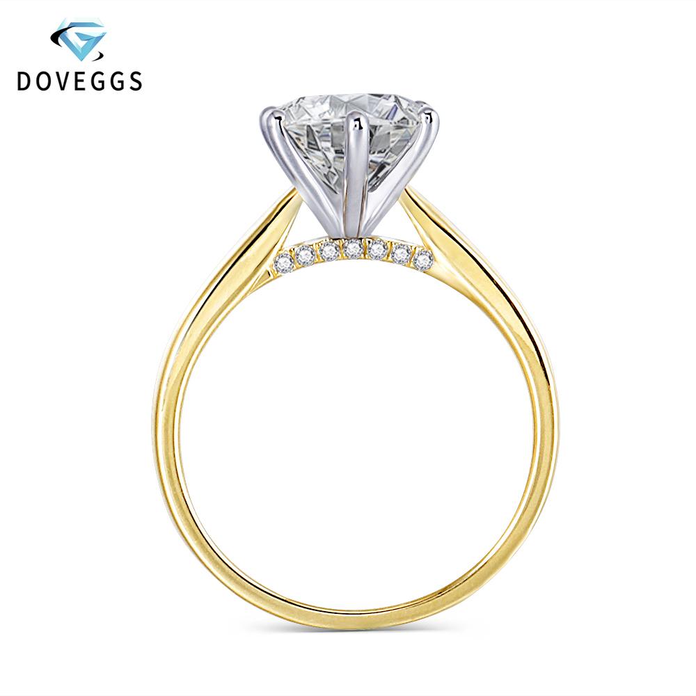 moissanite engagement ring (1