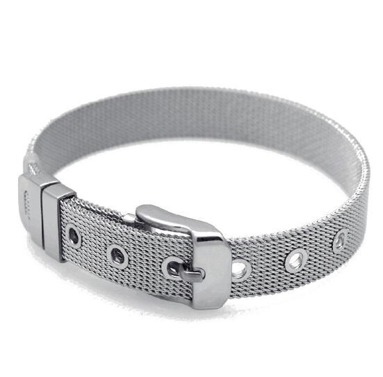 100pcs Rubber Stopper Fit 8mm//10mm wide Slide Charm Bracelet belt wristband